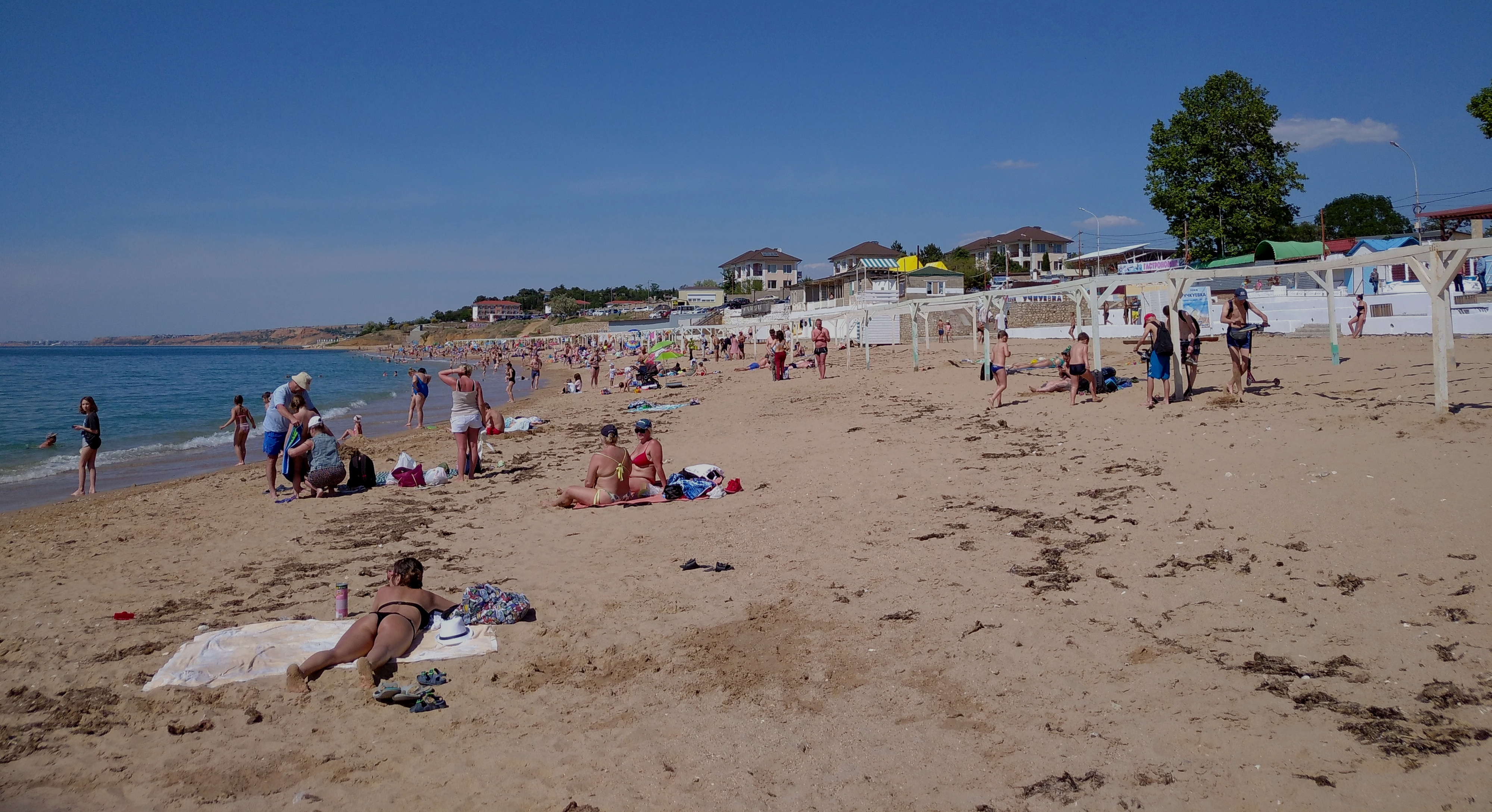 Севастопольский пляж