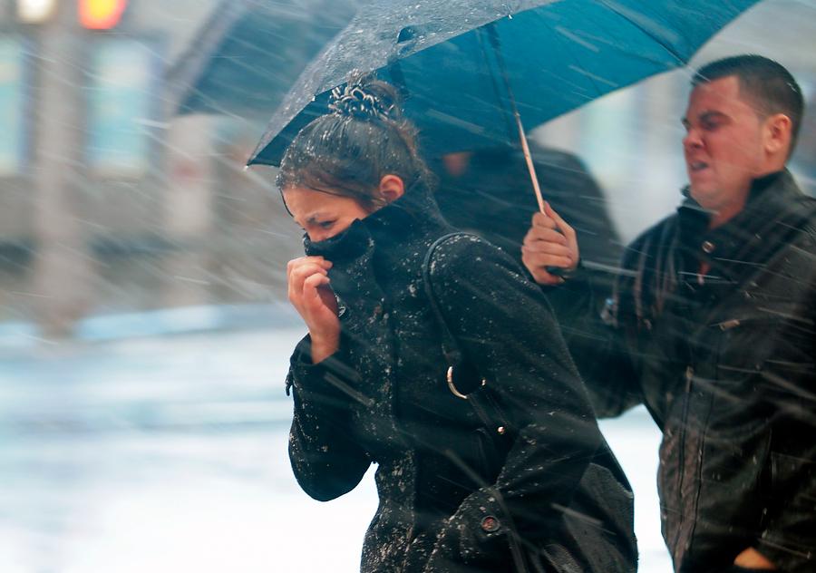 Фото с сильным ветром и дождем